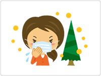 【京都・堀川御池】友愛診療所(総合内科  経鼻胃・大腸内視鏡検診センター)のスギ花粉症対策のごあんない