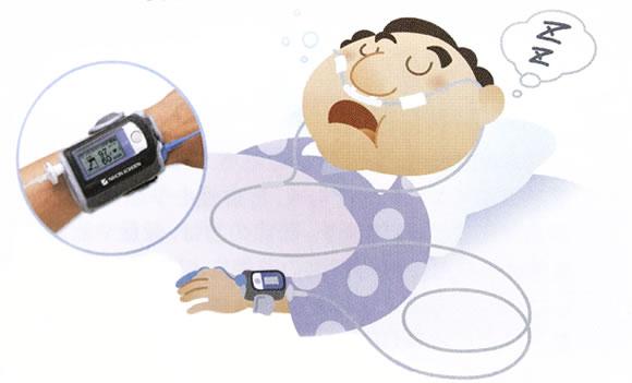 睡眠時無呼吸症候群(SAS)の検査を行っています
